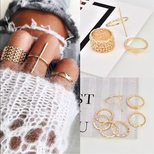 Jewelry - 💍Gold ring Bundle💍